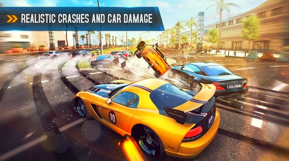 Asphalt 8 (only 5 39Mb) Highly Compressed 100% Working